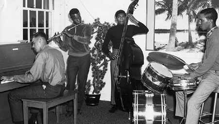 1966-67 Stafford James Quartet:  Keesler AFB, Biloxi, Mississippi